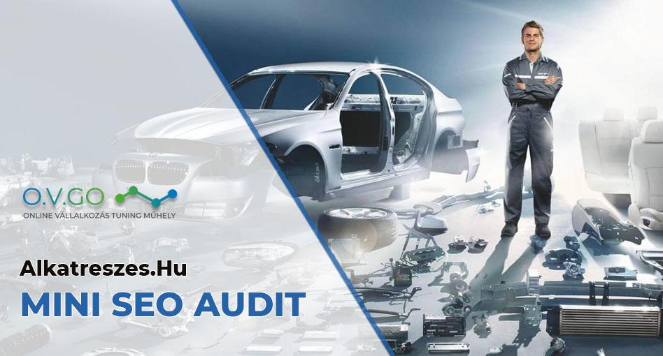 Alkatreszes.Hu SEO audit: Nagy számú tipikus webshop SEO hibák + MINNER SZTORI!